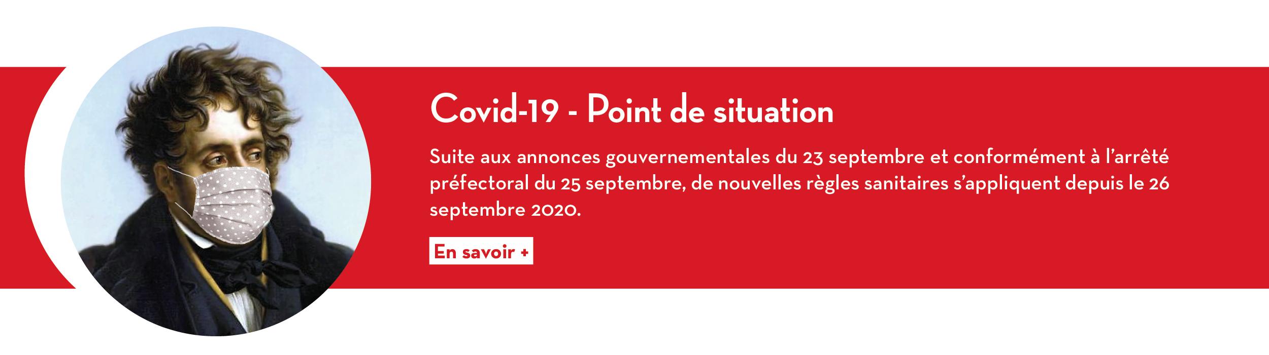 Covid-19 - Point de situation