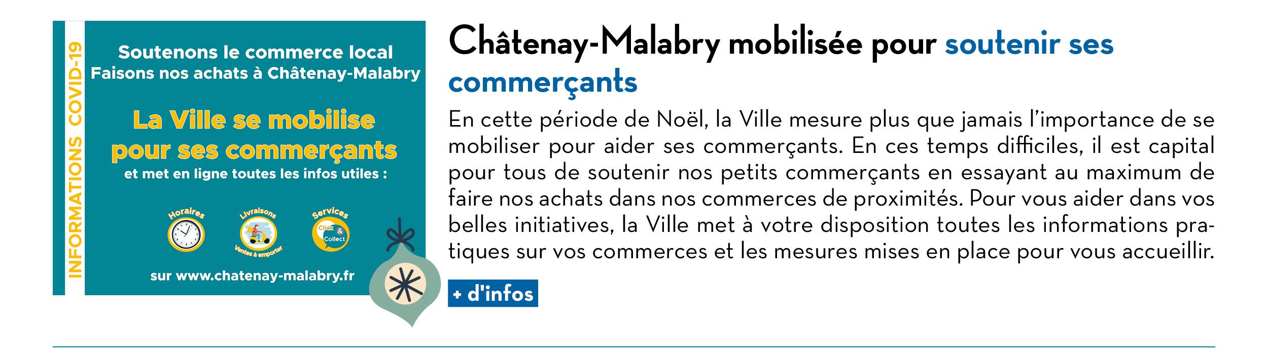 Châtenay-Malabry mobilisée pour soutenir ses commerçants