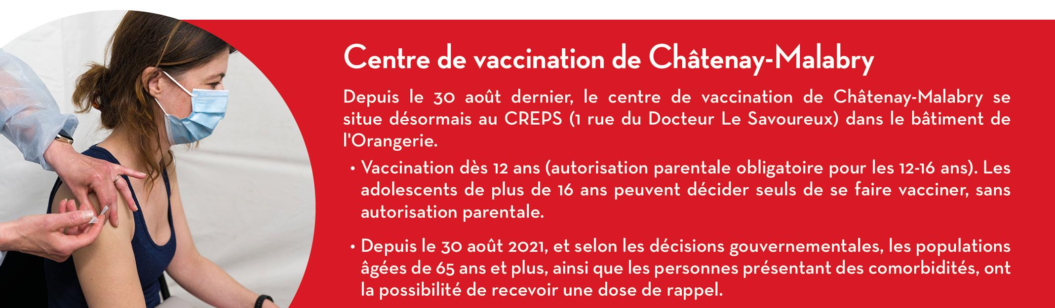 Centre de vaccination de Châtenay-Malabry
