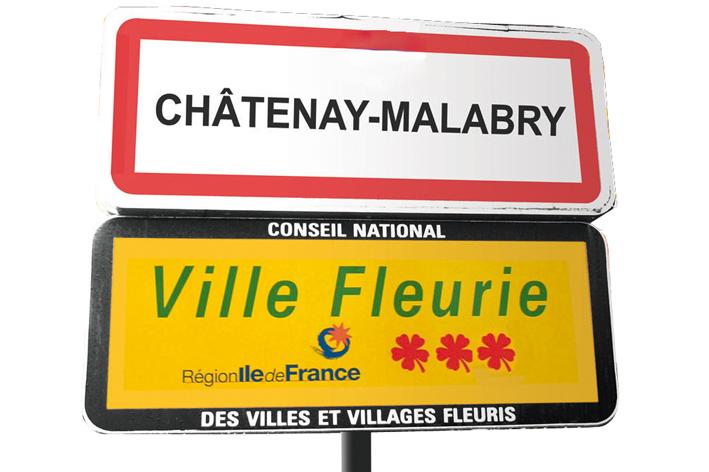 3 fleurs au concours national des villes fleuries