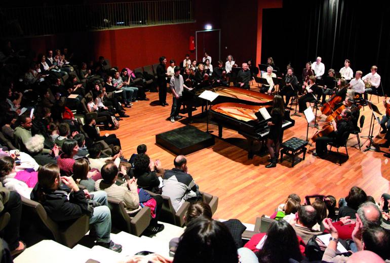 Concert à l'auditorium du Conservatoire