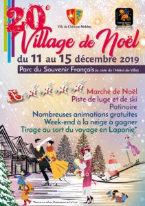 Couv Plaquette Village de Noël 2019